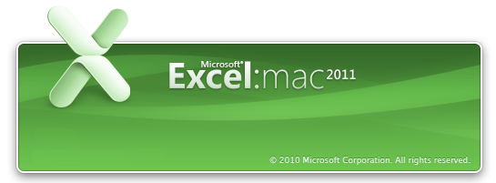 Mac Office2011 Excel
