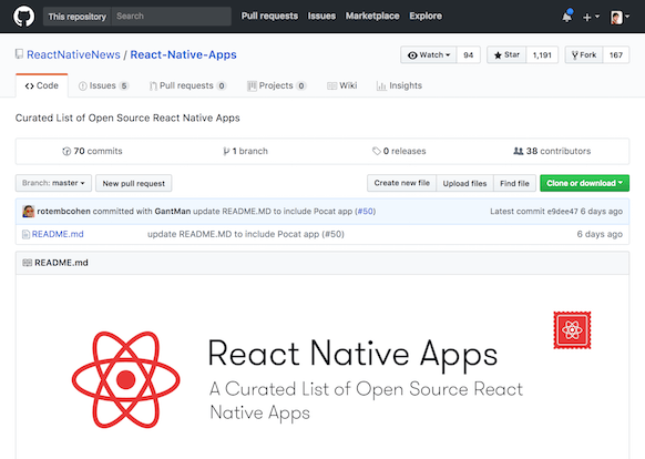 ReactNativeNews/React-Native-Apps